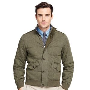 BROOKS BROTHERS - quilted bomber jacket